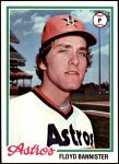 1978 Topps #39  Floyd Bannister  Front Thumbnail