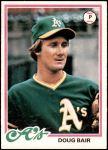 1978 Topps #353  Doug Bair  Front Thumbnail