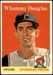 1958 Topps #306  Whammy Douglas  Front Thumbnail