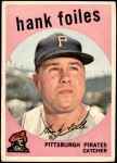 1959 Topps #294  Hank Foiles  Front Thumbnail
