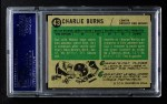 1958 Topps #43  Charlie Burns  Back Thumbnail