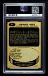 1965 Topps #64  Dennis Hull  Back Thumbnail