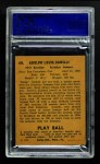 1940 Play Ball #68  Dolph Camilli  Back Thumbnail