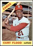 1966 Topps #60  Curt Flood  Front Thumbnail