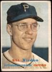 1957 Topps #110  Bill Virdon  Front Thumbnail