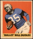 1949 Leaf #22  Bill Dudley  Front Thumbnail