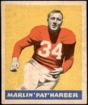 1949 Leaf #101  Pat Harder  Front Thumbnail