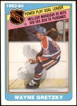 1984 O-Pee-Chee #383   -  Wayne Gretzky Power Play Goal Leaders Front Thumbnail