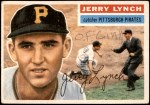 1956 Topps #97  Jerry Lynch  Front Thumbnail