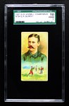 1887 N184 Kimball Champions  E.A. Burch  Front Thumbnail