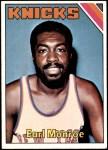 1975 Topps #73  Earl Monroe  Front Thumbnail