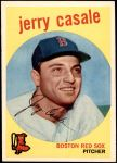 1959 Topps #456  Jerry Casale  Front Thumbnail
