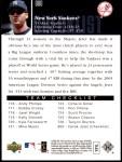 2006 Upper Deck #900  Derek Jeter  Back Thumbnail