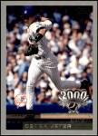 2000 Topps Opening Day #9  Derek Jeter  Front Thumbnail