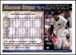 1998 Topps #8  Mariano Rivera  Back Thumbnail