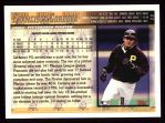 1998 Topps #11  Francisco Cordova  Back Thumbnail