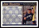 1998 Topps #158  Jose Valentin  Back Thumbnail