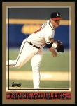 1998 Topps #162  Mark Wohlers  Front Thumbnail