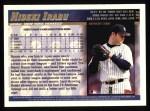 1998 Topps #181  Hideki Irabu  Back Thumbnail