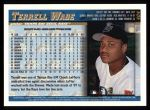 1998 Topps #404  Terrell Wade  Back Thumbnail