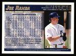 1998 Topps #441  Joe Randa  Back Thumbnail