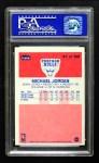 1986 Fleer #57  Michael Jordan  Back Thumbnail
