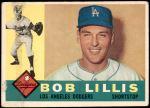 1960 Topps #354  Bob Lillis  Front Thumbnail