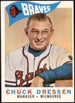 1960 Topps #213  Chuck Dressen  Front Thumbnail