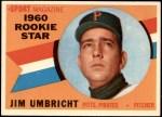 1960 Topps #145   -  Jim Umbricht Rookie Star Front Thumbnail