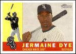 2009 Topps Heritage #428  Jermaine Dye  Front Thumbnail