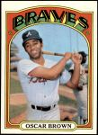 1972 Topps #516  Oscar Brown  Front Thumbnail