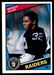 1984 Topps #98  Marcus Allen  Front Thumbnail
