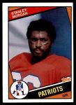 1984 Topps #140  Stanley Morgan  Front Thumbnail
