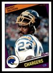1984 Topps #185  Danny Walters  Front Thumbnail