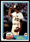 1981 Topps #367  Dennis Martinez  Front Thumbnail