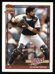 1991 Topps #72  Junior Ortiz  Front Thumbnail