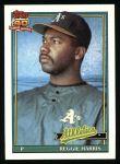 1991 Topps #177  Reggie Harris  Front Thumbnail