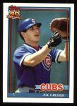 1991 Topps #214  Joe Girardi  Front Thumbnail