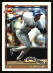 1991 Topps #515  Alvin Davis  Front Thumbnail