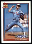 1991 Topps #528  Dennis Martinez  Front Thumbnail