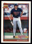 1991 Topps #554  Brian Harper  Front Thumbnail