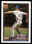 1991 Topps #557  Wally Whitehurst  Front Thumbnail
