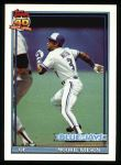 1991 Topps #727  Mookie Wilson  Front Thumbnail