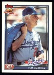 1991 Topps #789  Tommy Lasorda  Front Thumbnail