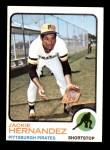 1973 Topps #363  Jackie Hernandez  Front Thumbnail