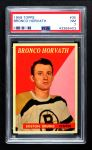 1958 Topps #35  Bronco Horvath  Front Thumbnail