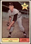 1961 Topps #303  Gary Peters  Front Thumbnail