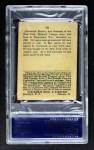 1915 Cracker Jack #78  Fred Merkle  Back Thumbnail