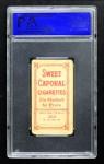 1909 T206 THR Vic Willis  Back Thumbnail