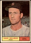 1961 Topps #326  Dave Hillman  Front Thumbnail
